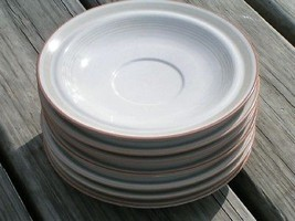Moon Beams by Mikasa PT901 Lot 7 Saucers Vintage - $24.30
