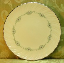 Musette by Lenox China DINNER PLATE F507 swirled flower - $70.11