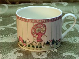 Golden Days by Minton China Single CUP no saucer girl - $34.58