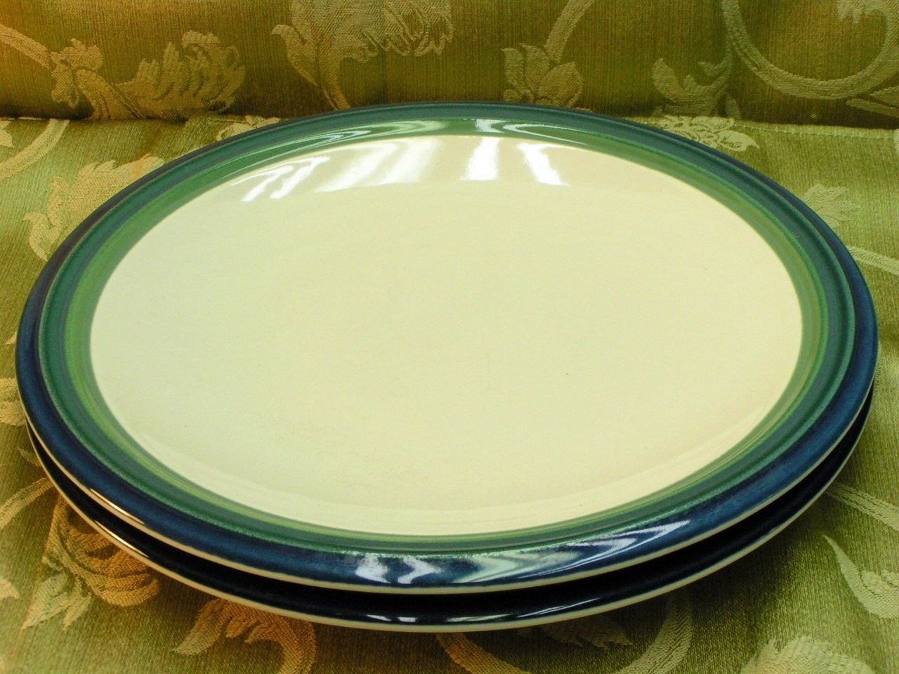 Ocean Breeze Pfaltzgraff LOT 2 DINNER PLATES blue green - $41.13 & Pfaltzgraff Dinner Plates (1990s): 1 customer review and 3 listings