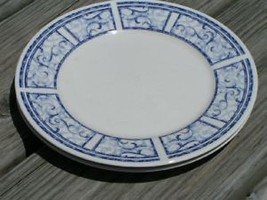 Breton Blue by Oneida China Lot 3 Salad Plates Vintage - $25.23
