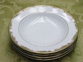 Chateau by Sango China 3627 LOT 4 RIM SOUP CEREAL BOWLS - $37.39