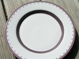 Gridworks Burgundy by Dansk China LOT 2 SALAD PLATES - $28.97