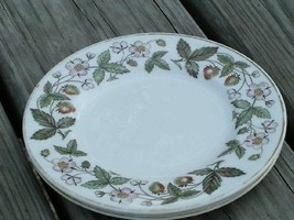 Strawberry Hill by Wedgwood China LOT 2 BREAD PLATES - $21.49