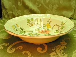 Olde Tapestry By Mikasa F2005 Heritage Flowers Round Vegetable Serving Bowl - $37.39
