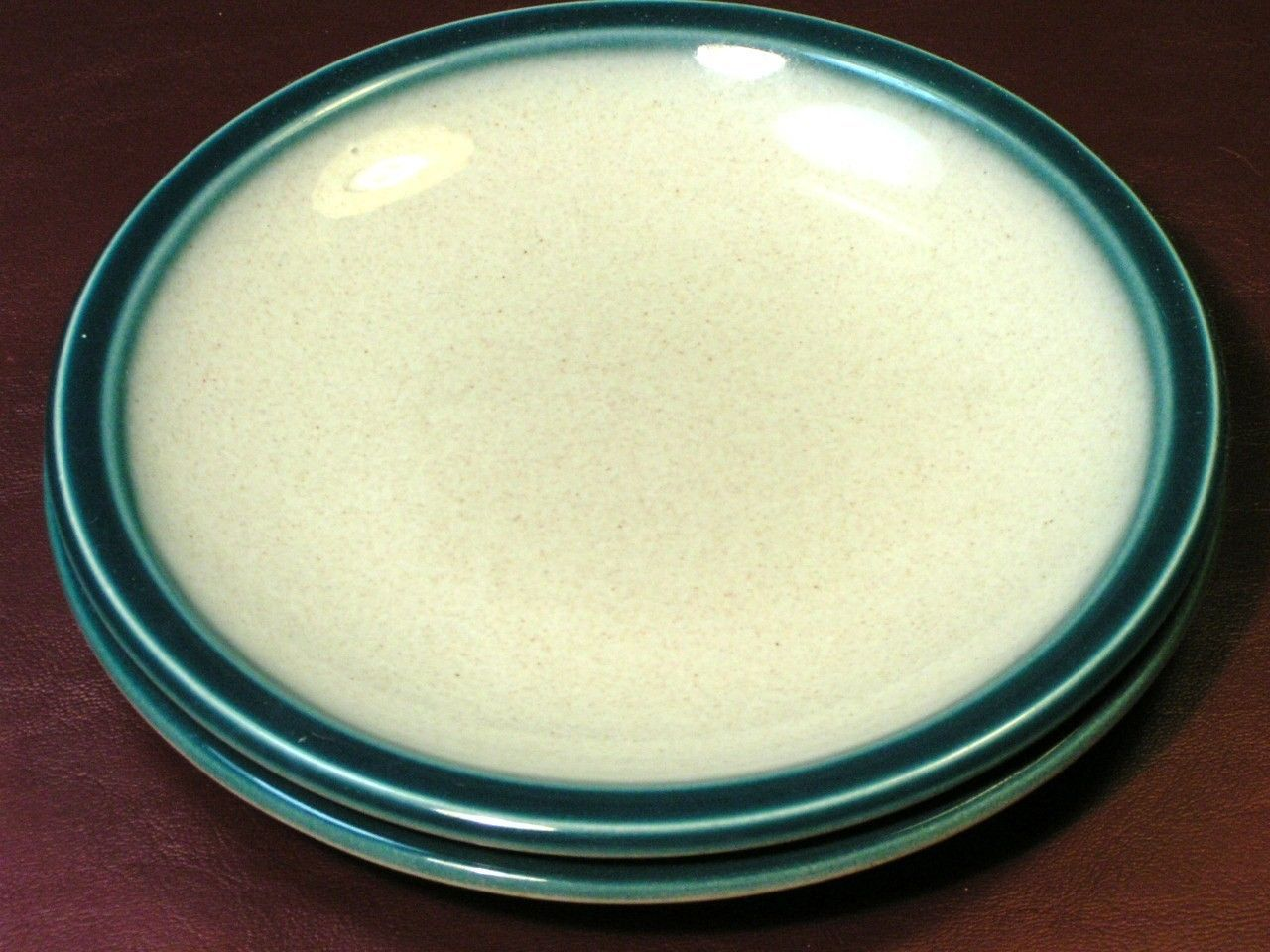 Blue Pacific by Wedgwood LOT 2 BREAD BUTTER PLATES rare