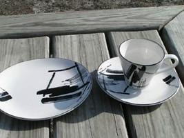 Calligraphy Sango Laslo 267002 Cup Saucer Salad Plate - $23.36