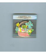 Easter Basket Colorful Eggs Costume Jewelry Pin WFC Prize - $5.00