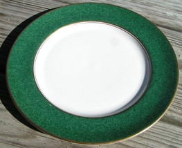 President by Aynsley & Sons SALAD PLATE china green image 1
