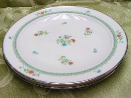 Brittany by Noritake 7195 LOT 4 BREAD PLATES fl... - $37.39