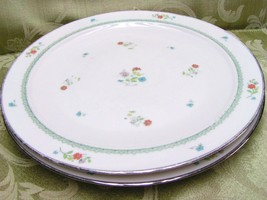 Brittany by Noritake 7195 LOT 2 SALAD PLATES fl... - $34.58