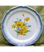 Amy by Mikasa CA503 DINNER PLATE Country Club flowers - $40.19