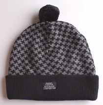 Ten 10 Deep New York The Mighty Tenth Division Houndstooth Pom Beanie Knit Cap image 4