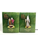 Rare Department 56 Lord Of The Rings Frodo Bilbo Gandalf The Grey Ornaments - $119.99