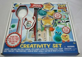 Disney Pixar Toy Story 4 Creativity Set Forky Bunny Ducky Buzz Lightyear... - $30.93