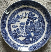 Johnson Brothers Blue Willow Plates China Porcelain - $10.70