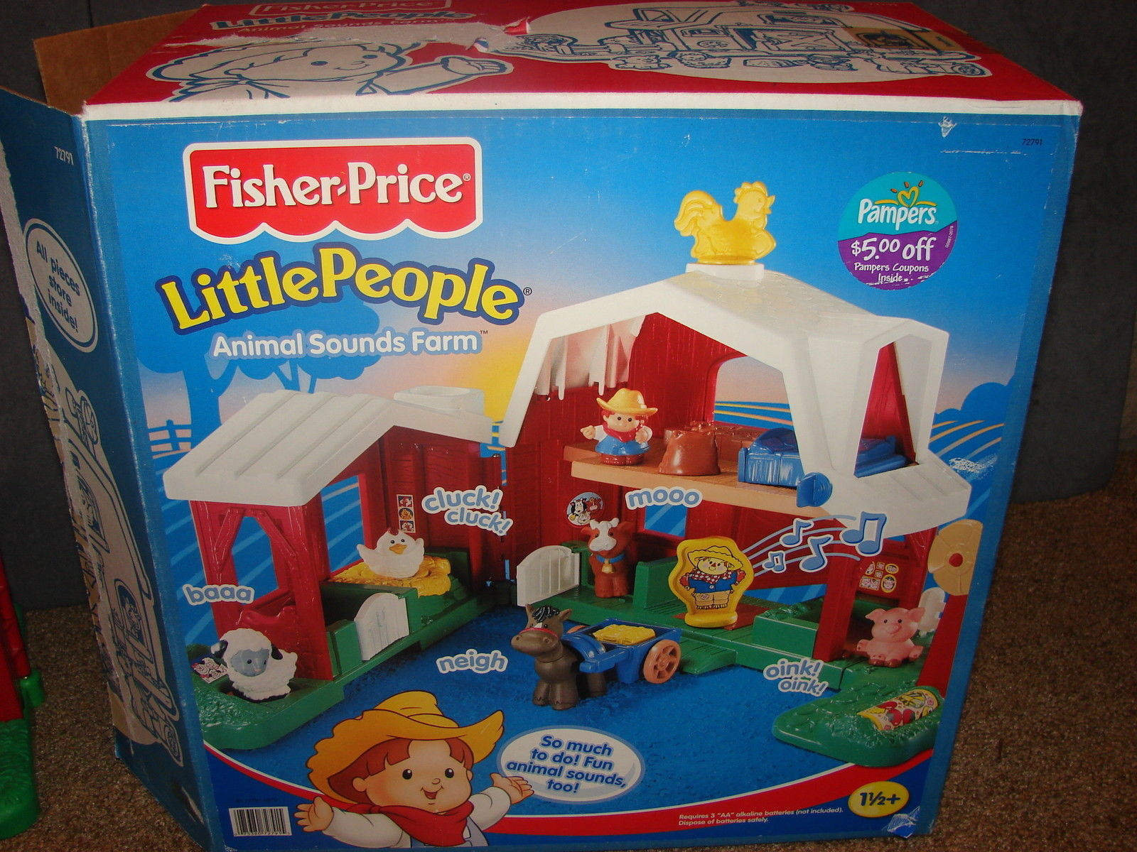 Fisher Price 72791 Little People Animal And 17 Similar Items