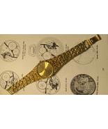 Hour Glass Weeping Gold -tone Quartz Watch WORKING - $50.00