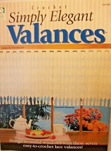 Simple Elegant Valance Curtains Crochet Instructions 101100  - $4.45