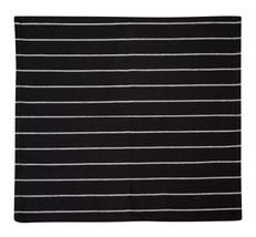 Cotton Kitchen Towels Striped Black 2/pack - $8.59