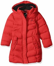 Vertical '9 Girls' Toddler Fashion Quilted Bubble Jacket, Red, 4T - $42.32