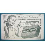 PALMOLIVE Soap Olive Oil - c 1960 Ink Blotter Advertisement - $4.49