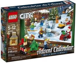 LEGO City Advent Calendar 60155 Building Kit 248 Piece Christmas Kids To... - $93.39