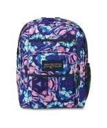 NWT! JANSPORT Big Student Backpack Brasilia Prime 3SExcell Shibori Kaleidoscope! - $49.49