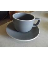 Sasaki Matt Grey cup and saucer 1 available - $3.22