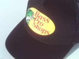 NEW! Black Cap by BASS PRO SHOPS Adult Unisex MESH Style Trucker Hat - $22.72
