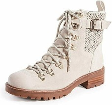 Sam Edelman Women's Tenlee Ankle Boot 6M Off-White NEW - $188.08