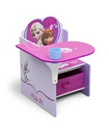 Desks For Girls Art Chair Kids Activity With Storage Bins Writing Disney... - $50.48