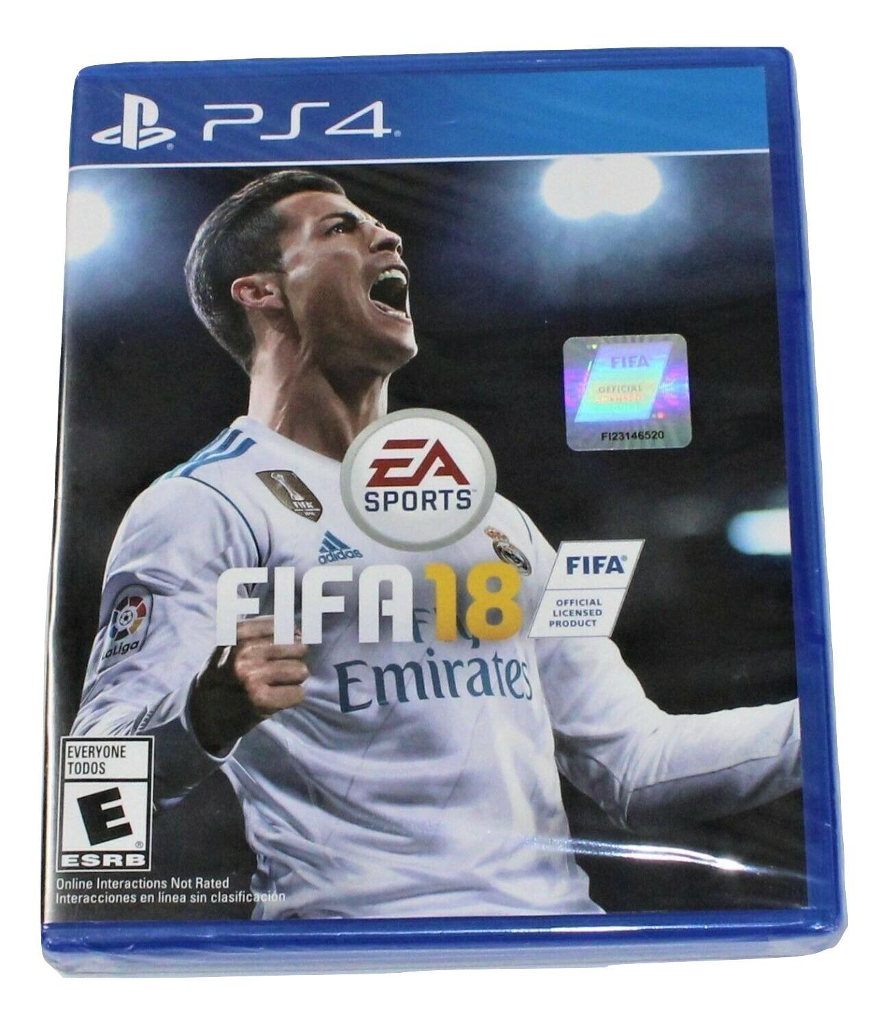 FIFA 18 (Sony PlayStation 4, 2017) - $8.99