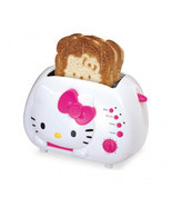 Hello Kitty 2-Slice Wide Slot Toaster with Cool Touch Exterior - $61.49 CAD