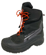 Columbia youth boys Bugaboot IV waterproof snow boots bungee laces size ... - $32.93