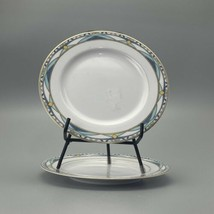 Mikasa  Vintage Gold Salad Plates -Set of 2 7 1/2 Inch Dessert l2302 - $19.79