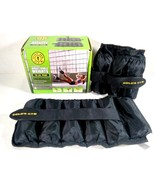 Golds Gym Adjustable Ankle Weights 10 lb. Pair 5 lbs.Each Free Shipping - $21.87