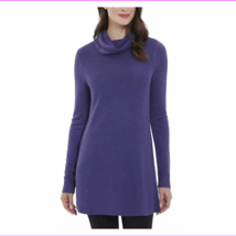 Adrienne Vittadini Ladies' Cowl Neck Tunic, Frosted Plum Heather , Size M - $5.49