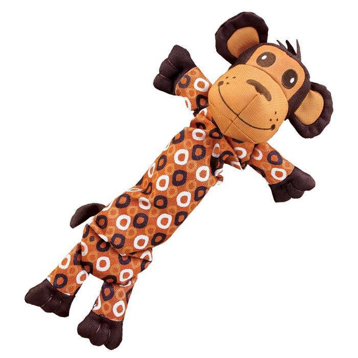 Kong Dog Toy - Large Stretcheez - Tough Squeak - MONKEY - Toys