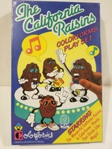 Vintage California Raisins Colorforms Play Set New Sealed NOS VTG Deadstock 1987 - $34.20