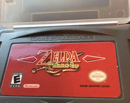 Legend of Zelda: Minish Cap English Custom Game Boy Advance GBA - $9.25