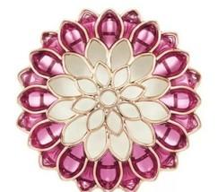 Bath & Body Works Dahlia Pink Flower Scentportable Car Air Freshener Vis... - $8.79