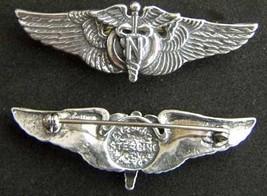 WWII Flight Nurse Wings Luxenberg Sterling Silver   - $65.00