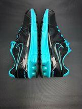 Nike Reax Rocket 2 Running Shoes 454175 004 Black Aqua Womens Size 8.5 image 6