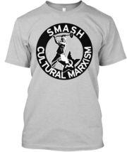 Smash Cultural Marxism - Hanes Tagless Tee T-Shirt - £17.45 GBP