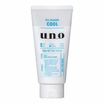 Shiseido Japan UNO Gel Cleans Cool Face Wash 130g - $10.41