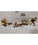 Dept 56 Alpine Village 1997 A NEW BATCH OF CHRISTMAS FRIENDS Puppies 56175 - $18.00