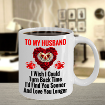 Surprise Birthday Wedding Anniversary Love Gift For Husband Hubby Him Coffee Mug - $15.83