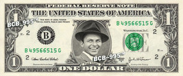FRANK SINATRA on a REAL Dollar Bill Rat Pack Cash Money Collectible Memo... - $4.50