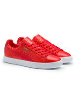 PUMA Clyde Dressed Snakeskin Red 361704-03 sz 8.5 Animal Pack Croc Premium  - $71.25